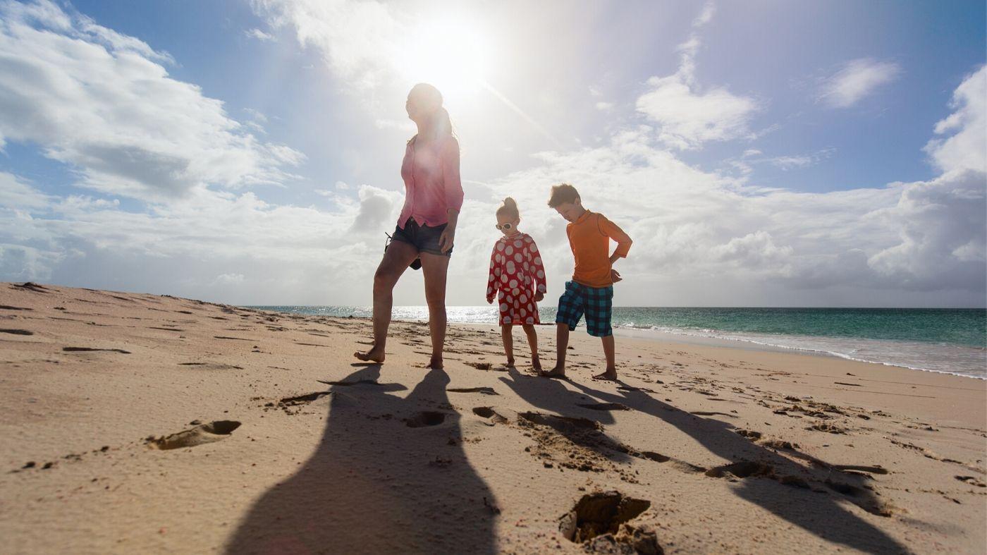 Гуверантка из Англии на каникулах с детьми